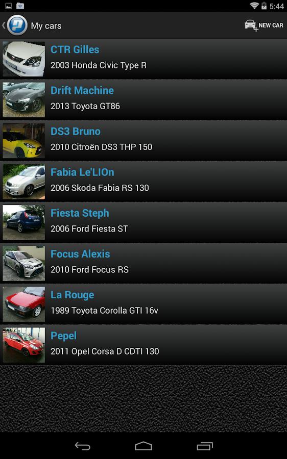 Perfexpert banc de puissance applications android sur google play - Banc de puissance voiture ...