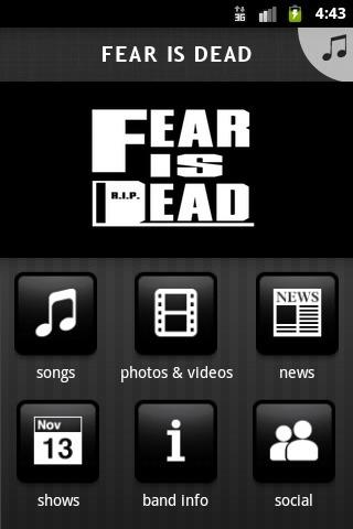 FEAR IS DEAD - screenshot