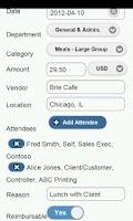 Screenshot of Certify Mobile