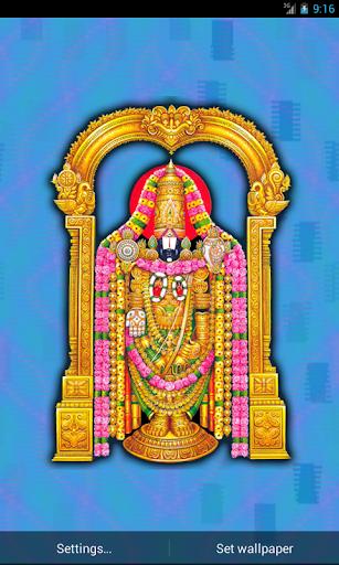 Tirupati Balaji Live Wallpaper