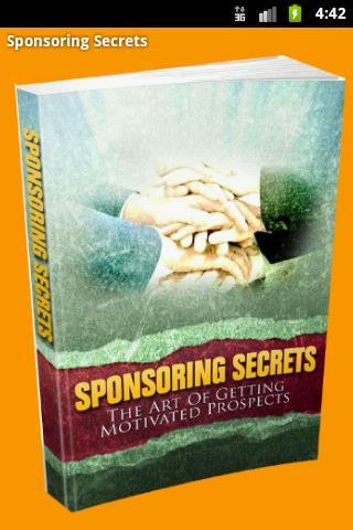 Sponsoring Secrets