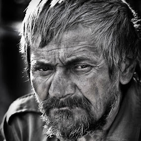 homeless by Ionel Covariuc - People Portraits of Men ( picture, homeless, people, portrait, man )