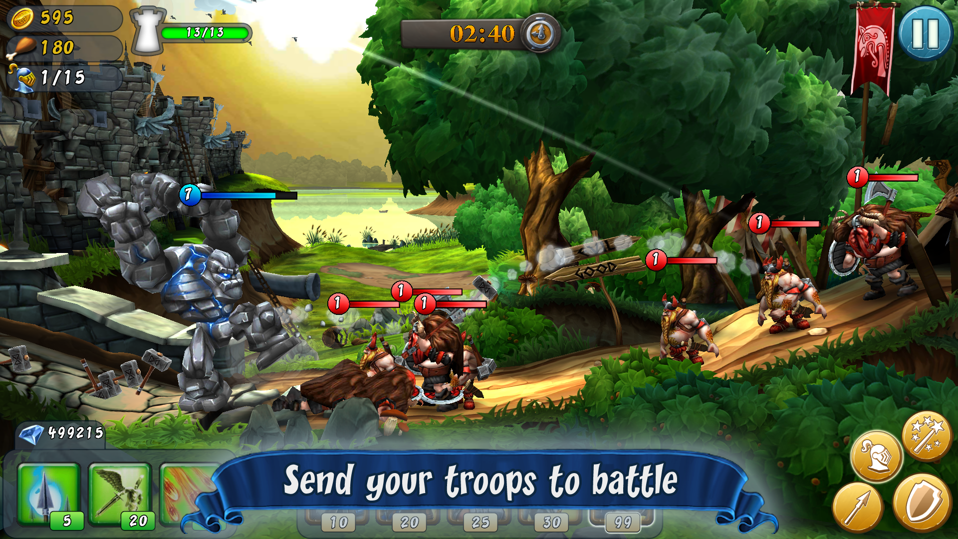 CastleStorm - Free to Siege screenshot #5
