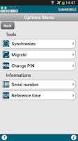 Screenshot of SafeMOBILE