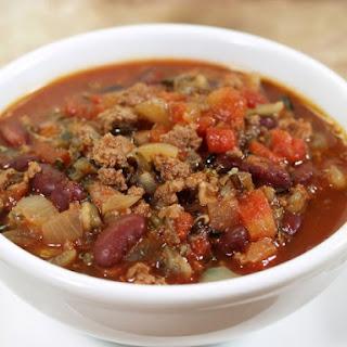 Slow Cooker Wild Rice Chili