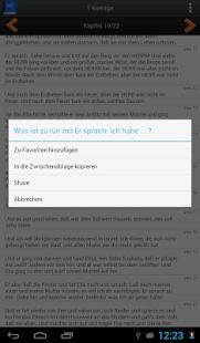 Deutsch Luther Bibel screenshot