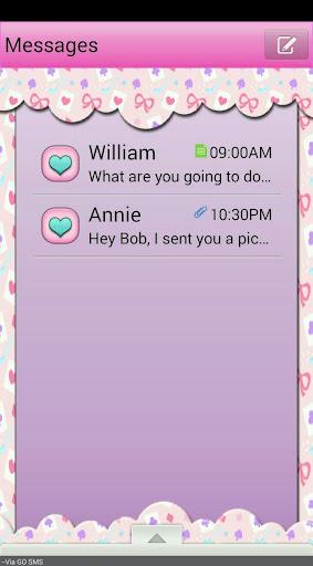 QueenOfHearts GO SMS THEME