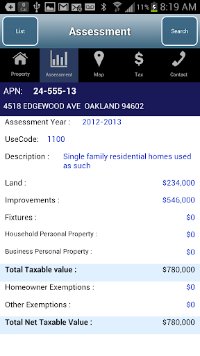 Alameda County Property