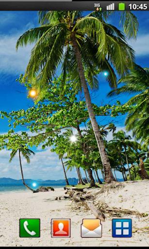 Beach Oceanic live wallpaper