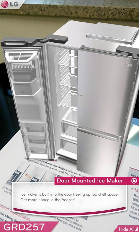 LG DOOR-IN-DOOR™ 3D AR- screenshot