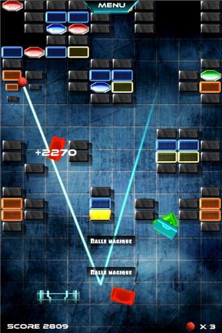BrickBreaker- screenshot