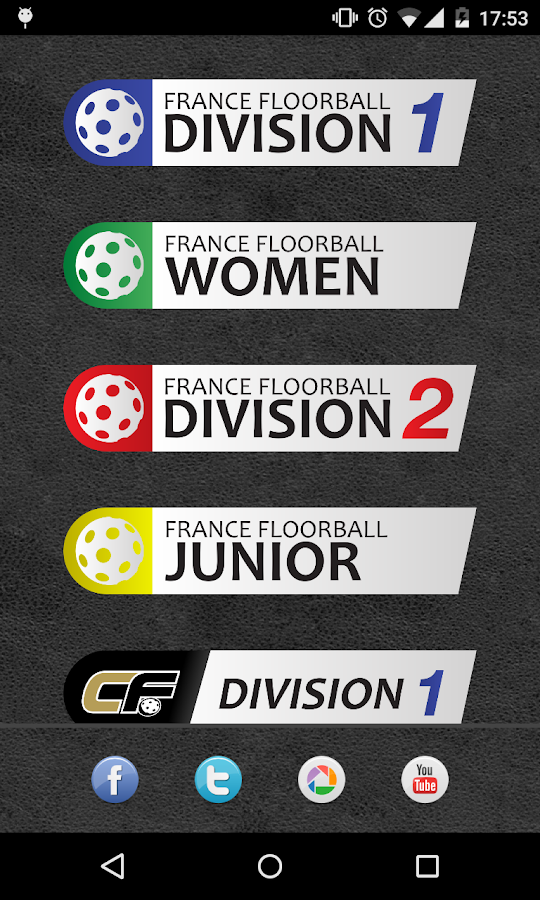 Caen Floorball- screenshot