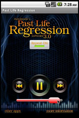 Past Life Regression Hypnosis- screenshot