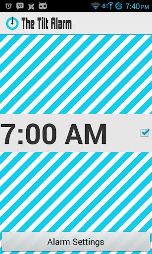 The Tilt Alarm - AdFree