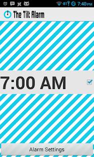 The Tilt Alarm - AdFree - screenshot thumbnail