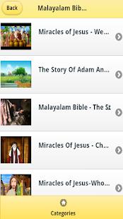 Malayalam Bible Story For Kids
