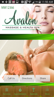 Avalon Massage- screenshot thumbnail