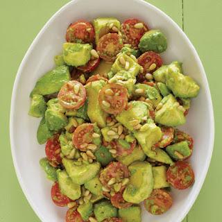 Avocado-Cherry Tomato Salad Recipe with Lime Vinaigrette