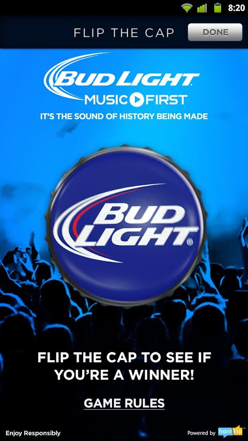 Bud Light - screenshot