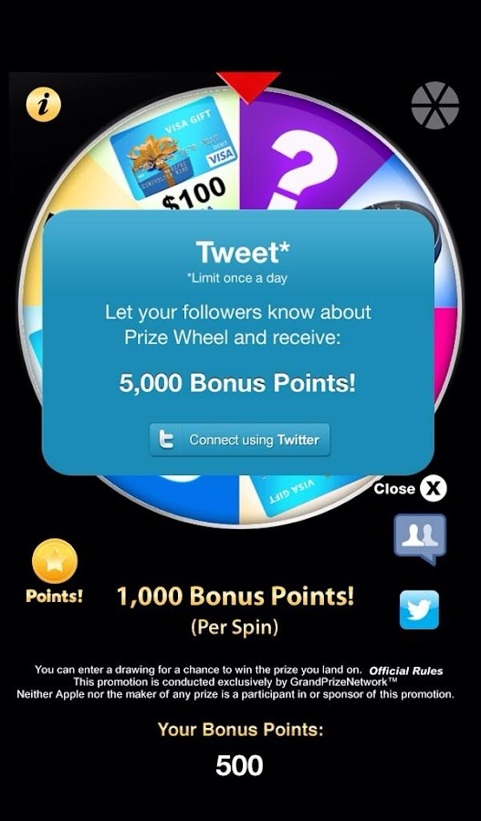 Prize Wheel ™ - screenshot