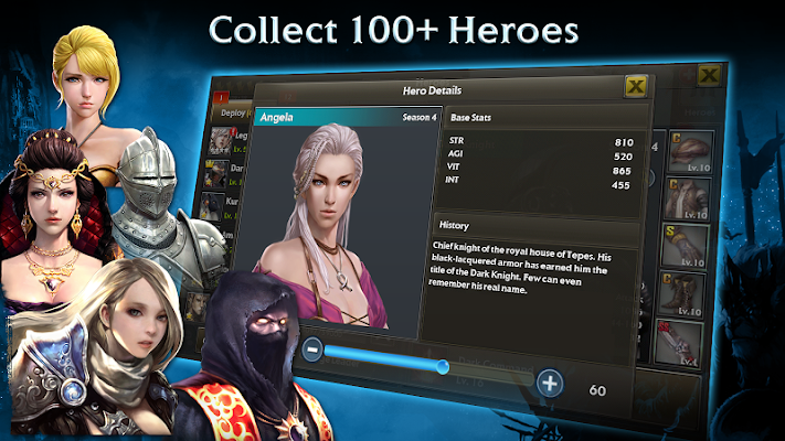 Legion of Heroes - Screenshot