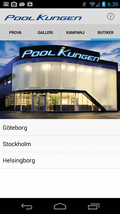 PoolKungen Pool- screenshot