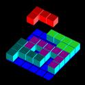 Tessera3D 3-dimensional puzzle icon