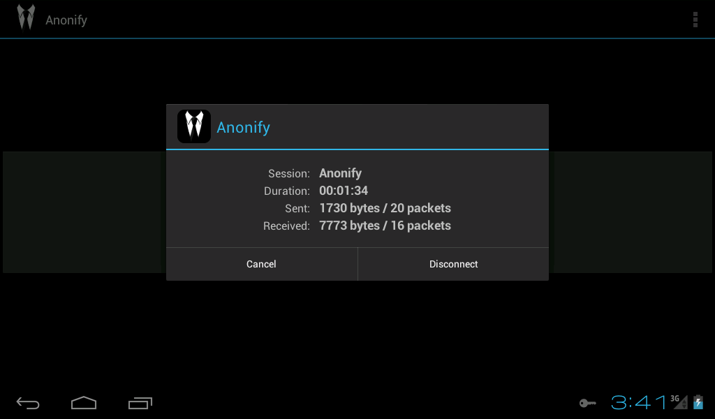 Anonify - screenshot