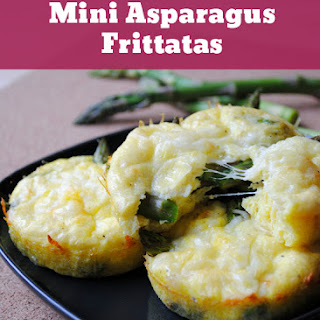 Mini Asparagus Frittatas