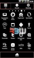 Screenshot of RBW GO Launcher Ex Theme