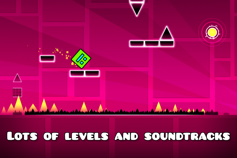 Geometry Dash - screenshot