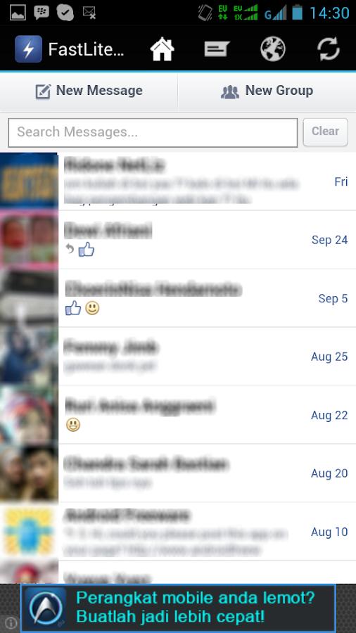 FastLite For Facebook - screenshot