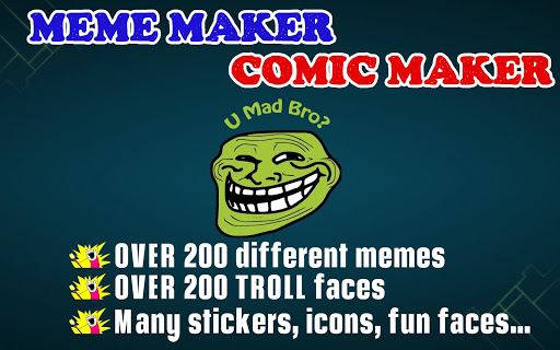 Meme maker Comic maker