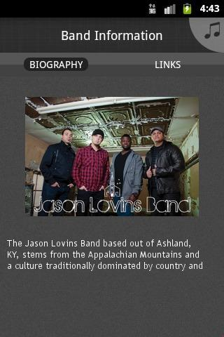 Jason Lovins Band - screenshot