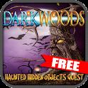 FREE Dark Woods Hidden Objects icon