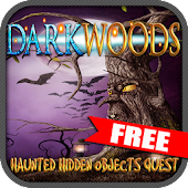 FREE Dark Woods Hidden Objects