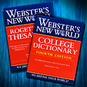 Websters Dictionary+Thesaurus logo
