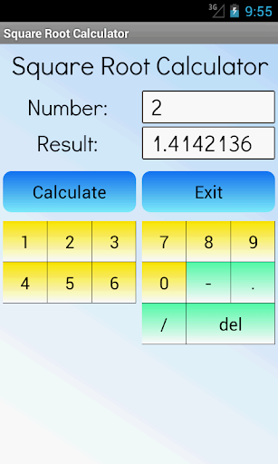 Square Root Calculator