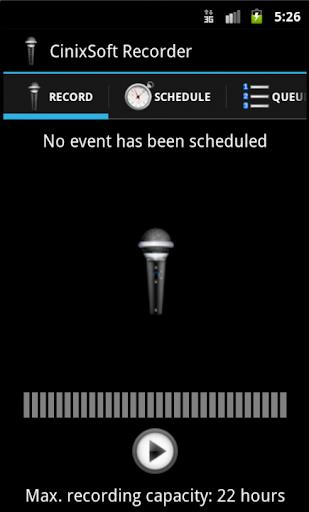 Remote Schedule Voice Recorder