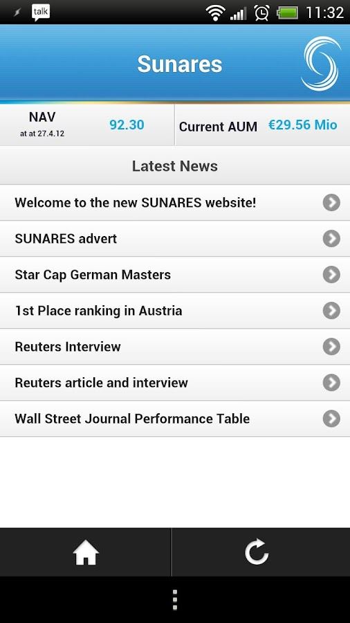Sunares Updates - screenshot