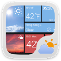 W8 Style Weather Widget Theme icon