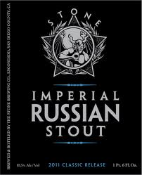 Logo of Stone Imperial Russian Stout