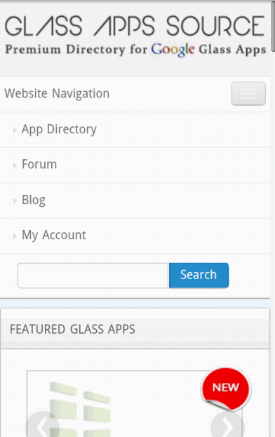 Glass App Source- screenshot