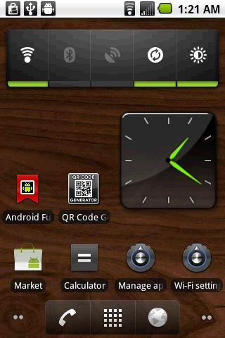 Awesome Clock Widget - screenshot