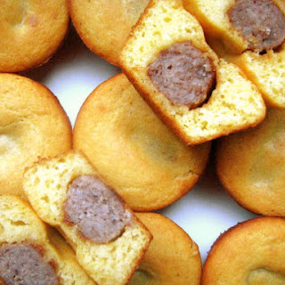 Sausage-Stuffed Corn Muffins