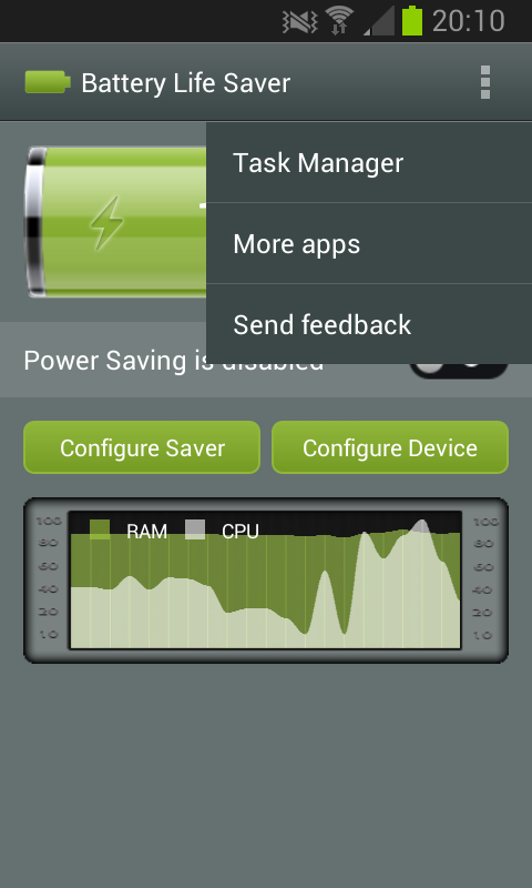 Battery Life Saver - screenshot