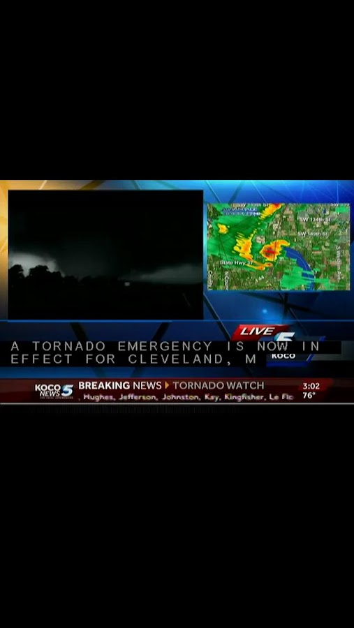 Tornadoes KOCO 5- screenshot