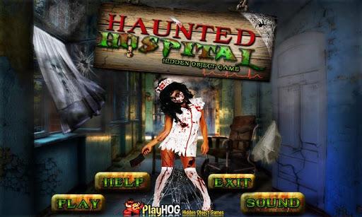 Haunted Hospital Hidden Object