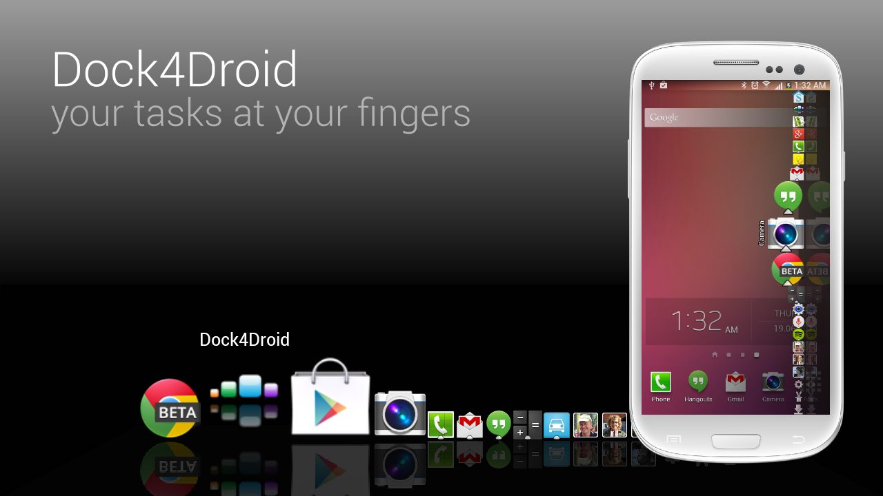 Dock4Droid Unlock- screenshot