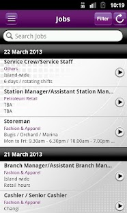 Jobs & Courses @SIRS- screenshot thumbnail